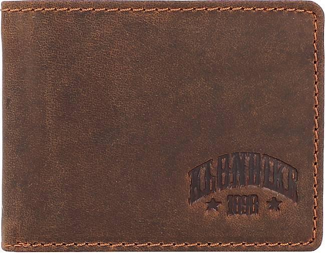 Klondike 1896 Noah Geldbörse Leder 10,5 cm