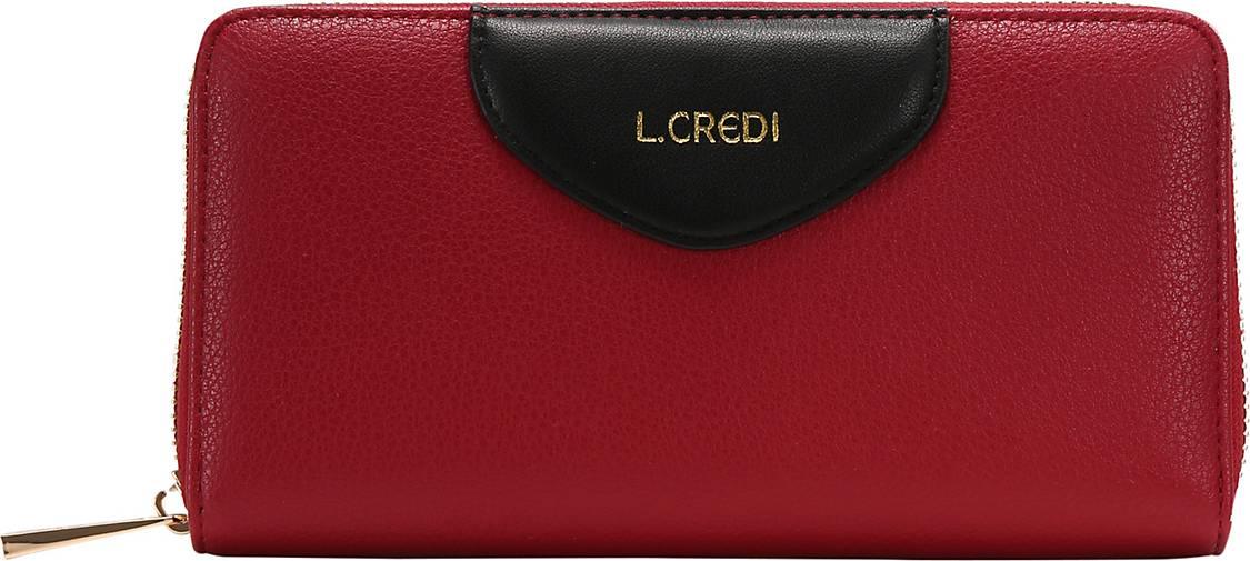 L.CREDI Brieftasche Fabiola Geldbörse