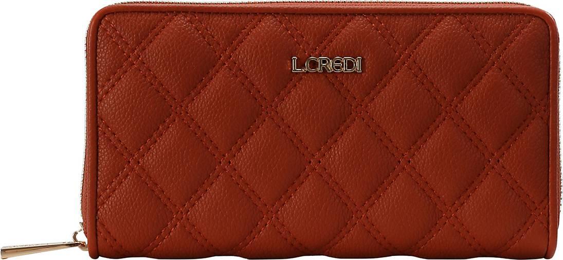 L.CREDI Brieftasche Florenze Geldbörse