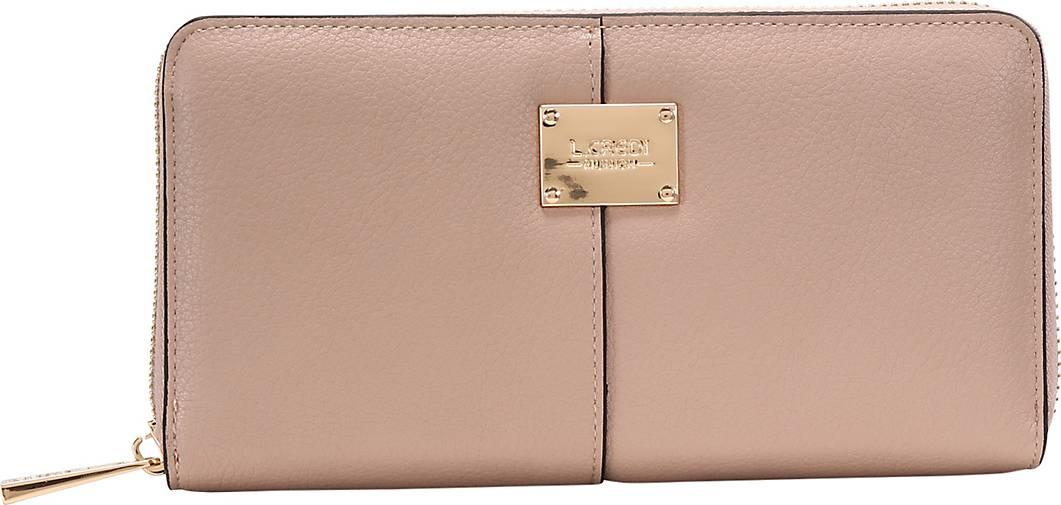 L.CREDI Brieftasche Ginger Geldbörse