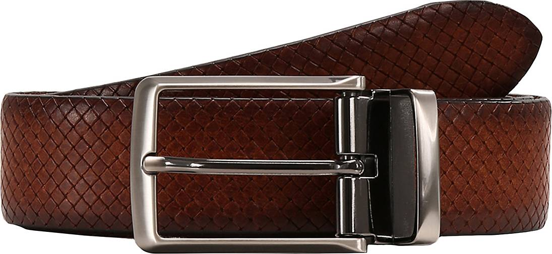 LLOYD Men's Belts Ledergürtel Vollrindleder - Kantenfinish