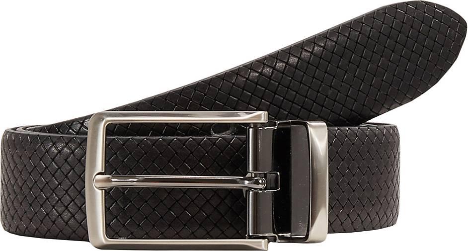 LLOYD Men's Belts Ledergürtel Vollrindleder - Kantenfinish
