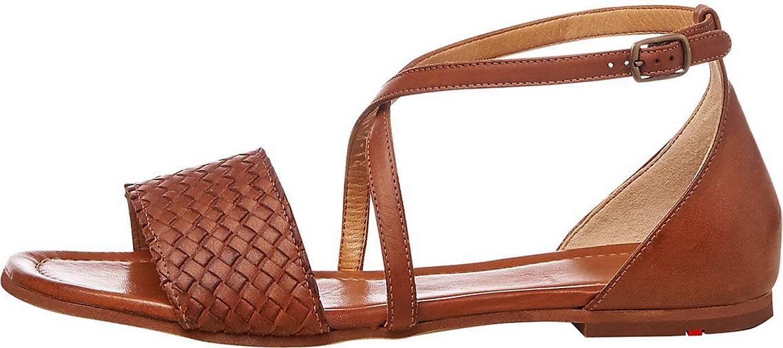 LLOYD Sandale mit flachem Absatz