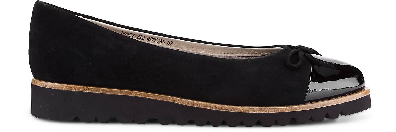 La Ballerina Plateau-Ballerina in schwarz schwarz schwarz kaufen - 47599101 | GÖRTZ Gute Qualität beliebte Schuhe af1e79