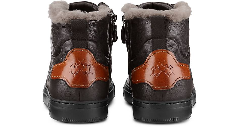 La Martina kaufen Stiefelette PANGEA in braun-dunkel kaufen Martina - 47667201 | GÖRTZ Gute Qualität beliebte Schuhe c99a23