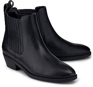 Lauren Ralph Lauren, Chelsea-Boots Erika in schwarz, Boots für Damen