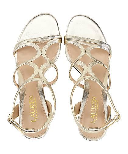 Lauren kaufen Ralph Lauren Sandalette GILAH in gold kaufen Lauren - 47235502 | GÖRTZ 0a9027