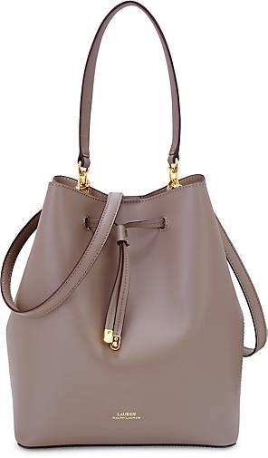 Lauren Ralph Lauren Tasche DRYDEN DEBBY in taupe-hell kaufen ... c21c0a222d