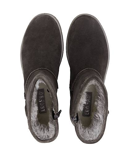 dunkel Grau Grau Winter boots boots Winter Damen Damen H0qFznw4