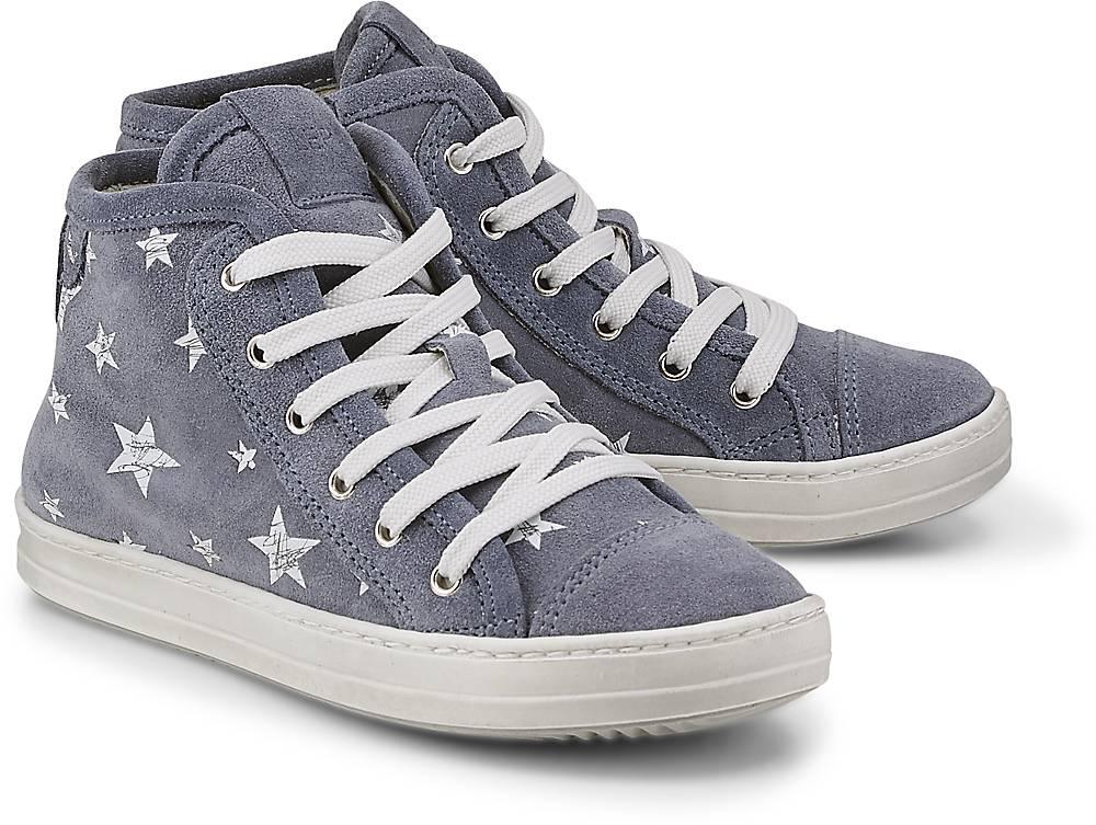 High-Top-Sneaker von Lepi in blau für Mädchen. Gr. 31,32,34,35,36 Preisvergleich