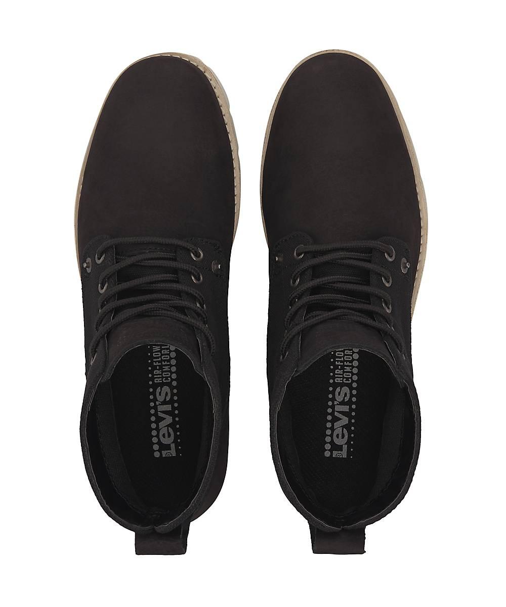 Levi's Schnür-boots Jax In Schwarz Kaufen Boots