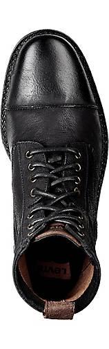 Levi's Schnür-Stiefel MAINE in schwarz kaufen Gute - 43555101 | GÖRTZ Gute kaufen Qualität beliebte Schuhe faf19e