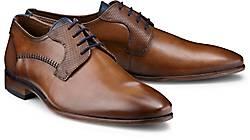 FLORIS VAN BOMMEL Schuhe Herren Leder Monks Schnürer Businessscuhe Gr.455 NEU