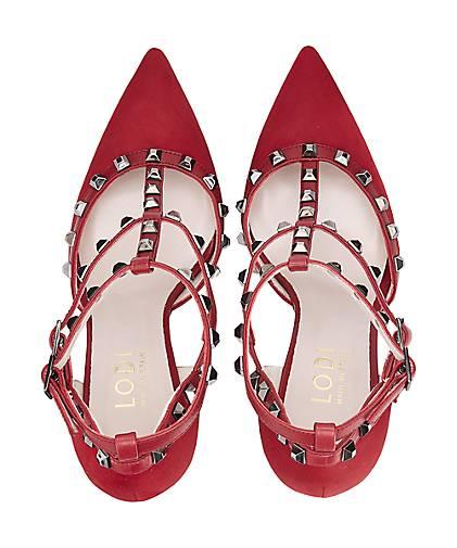 Lodi Pumps RALLY RALLY RALLY RUSH in rot kaufen - 45833104 GÖRTZ Gute Qualität beliebte Schuhe 49c3e4