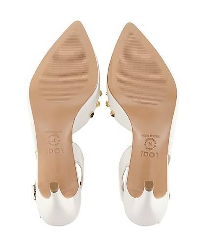 Lodi Sling-Pumps ELA in weiß weiß weiß kaufen - 48427201 GÖRTZ Gute Qualität beliebte Schuhe bf32fa