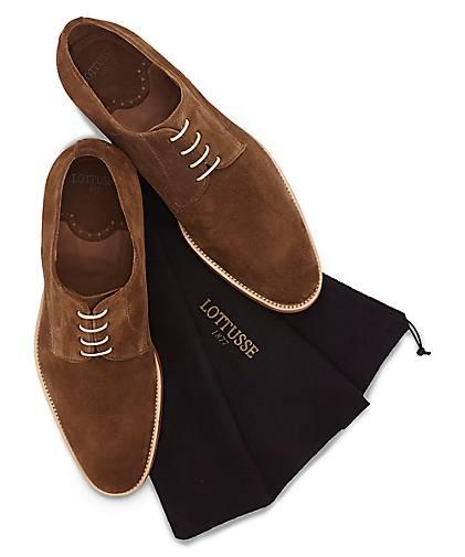 Lottusse Lottusse Lottusse Derby-Schnürer in braun-mittel kaufen - 48295401 GÖRTZ Gute Qualität beliebte Schuhe fcb3f9