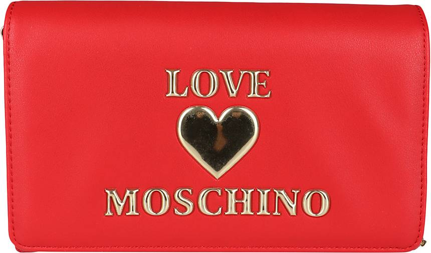 Love Moschino Evening Bag mit Herzapplikation