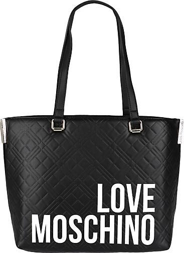 Love Moschino Shopper mit Label Print