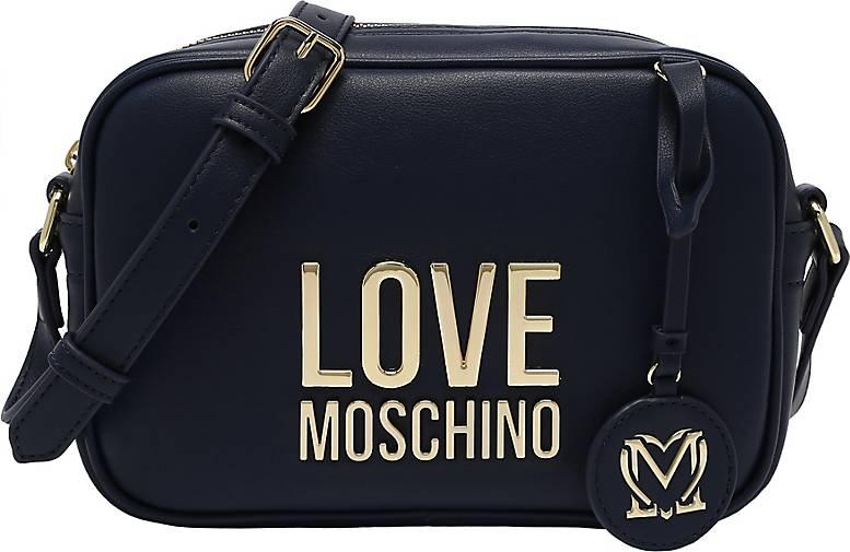 Love Moschino Umhängetasche mit abnehmbarem Charm