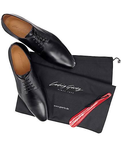 Ludwig Görtz - Derby-Schnürschuh in schwarz kaufen - Görtz 47495001 | GÖRTZ Gute Qualität beliebte Schuhe f446b5