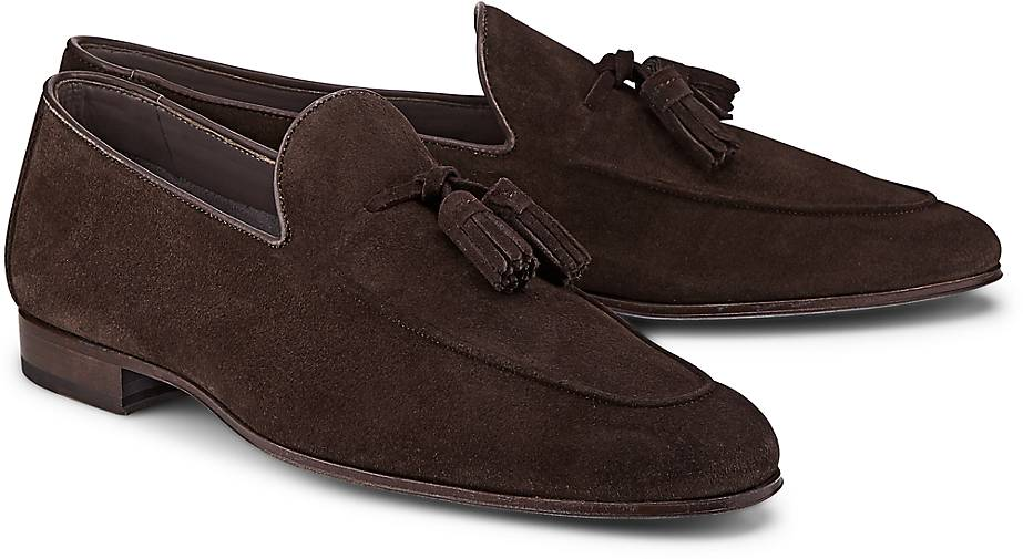 Ludwig Görtz Velours-Slipper