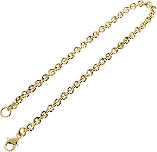 "Luxxos Ankerarmband ""3,10 mm aus 333 Gelbgold"""