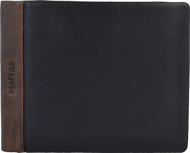 MAÎTRE Bundenbach Gilbrecht Geldbörse RFID Leder 12 cm