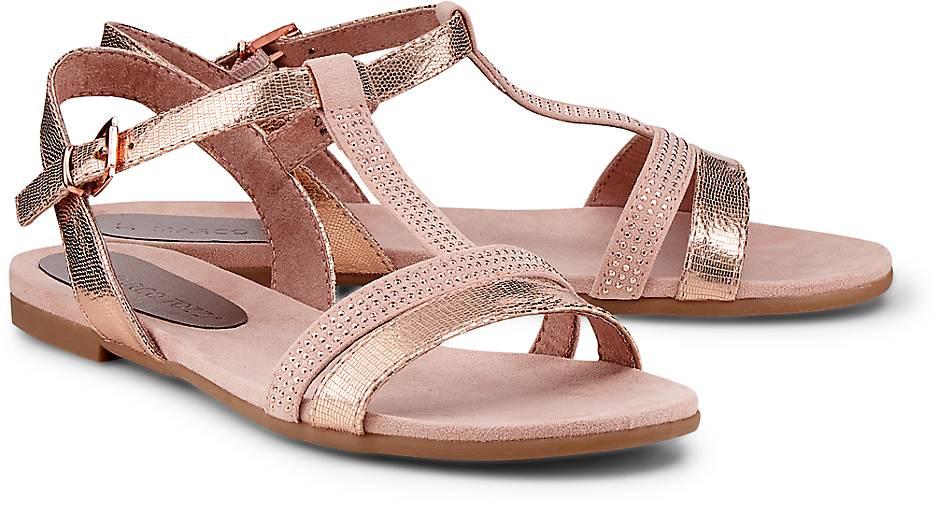 368488897fa MARCO TOZZI Riemchen-Sandale in bronze kaufen - 47260501