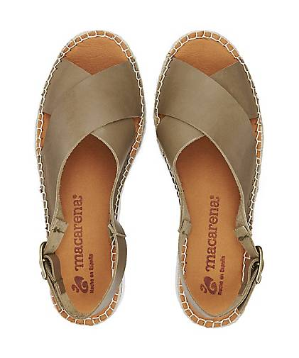 Macarena Sandale VAQUETA in khaki khaki khaki kaufen - 48401301 GÖRTZ Gute Qualität beliebte Schuhe 55656d