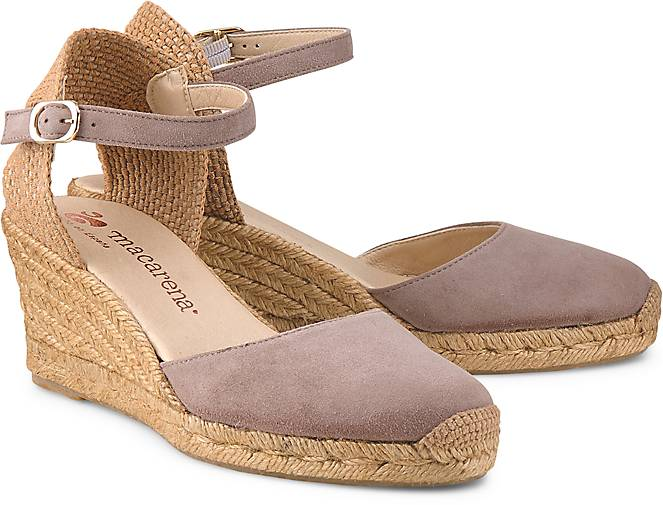 Macarena Wedges ANA 21 in taupe kaufen - 47419601 GÖRTZ Gute Qualität beliebte Schuhe