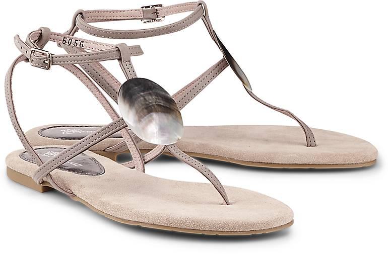 Maluo Perlmutt-Sandalette