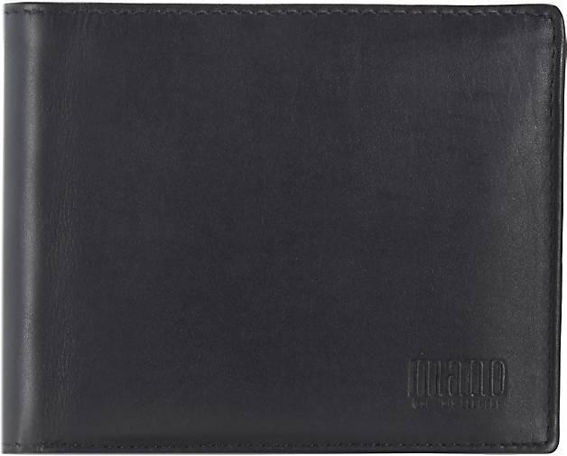 Mano Planus Geldbörse Leder 12,2 cm