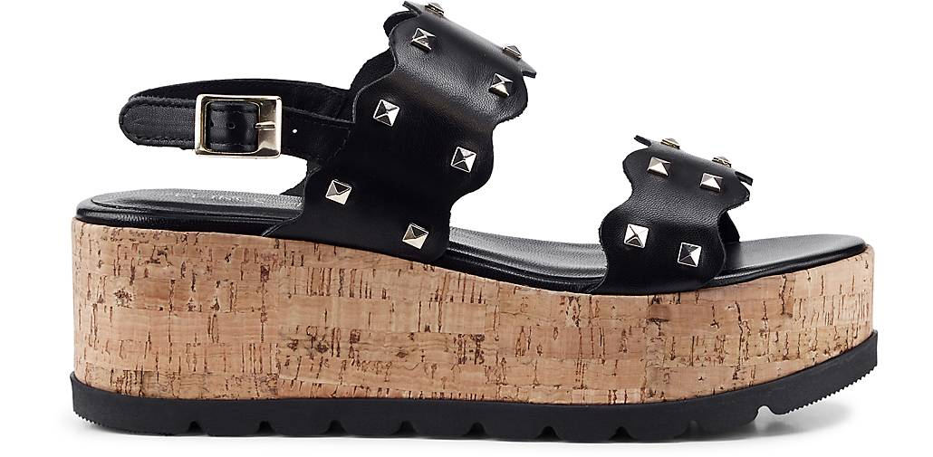 Marc Marc Marc Cain Plateau-Sandalette in schwarz kaufen - 48170901 GÖRTZ Gute Qualität beliebte Schuhe e5e3db