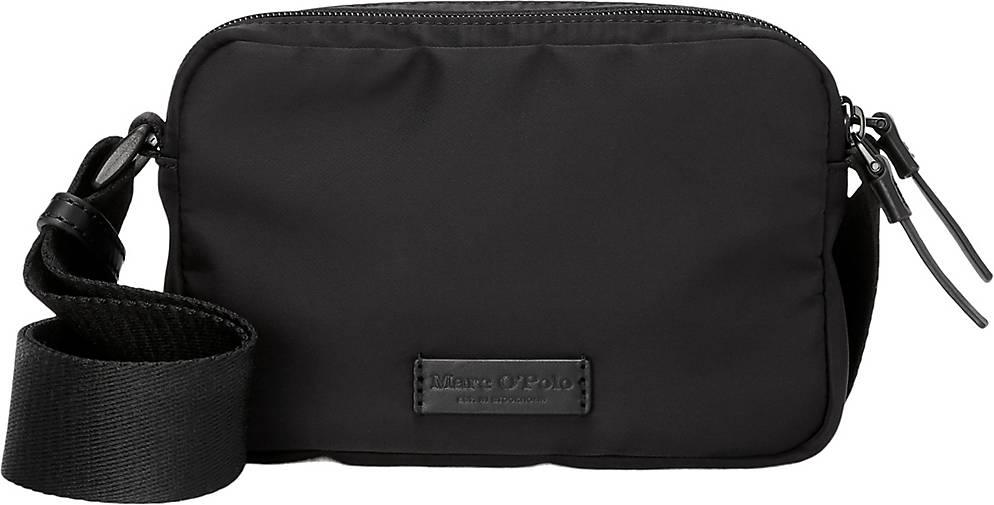 Marc O'Polo Crossbody Bag mit edlen Leder-Details