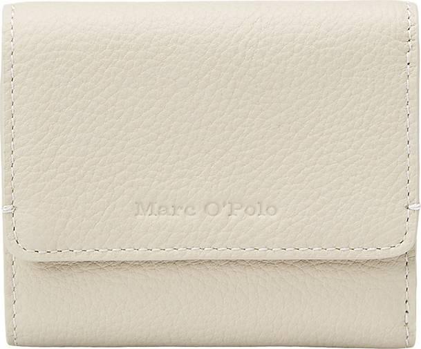 Marc O'Polo Geldbörse aus genarbtem Rindsleder