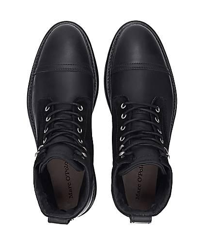 Marc O'Polo MID LACE BOOTS in schwarz kaufen - 47595201 beliebte | GÖRTZ Gute Qualität beliebte 47595201 Schuhe 30e363