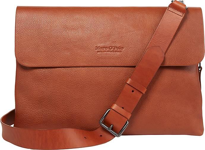 Marc O'Polo Messenger Bag aus hochwertigem Leder