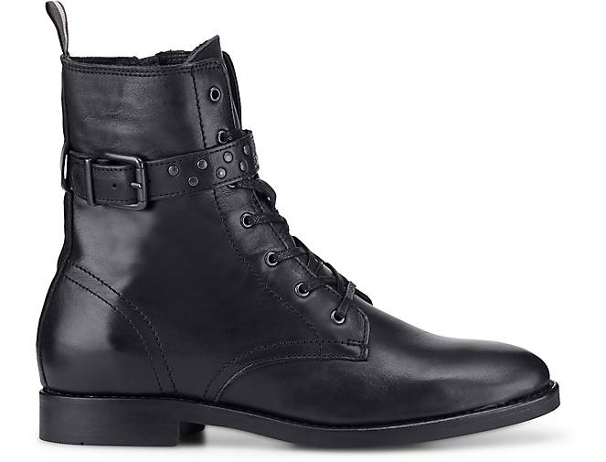 Marc O'Polo - Schnür-Boots in schwarz kaufen - O'Polo 47566701 | GÖRTZ 6d5386