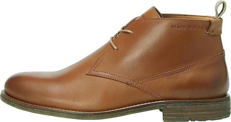 Marc O'Polo Schnür-Schuhe aus hochwertigem Rindsleder