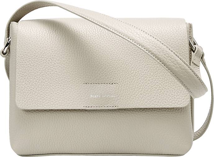 Marc O'Polo Shoulder-Bag aus genarbtem Rindsleder