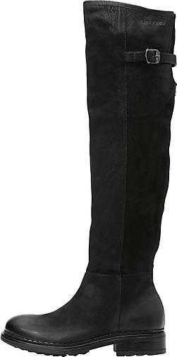 Marc O'Polo Stiefel aus geöltem Nubukleder
