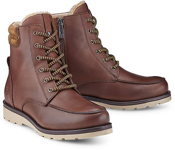 winter boots von marc o 39 polo in braun mittel f r damen. Black Bedroom Furniture Sets. Home Design Ideas