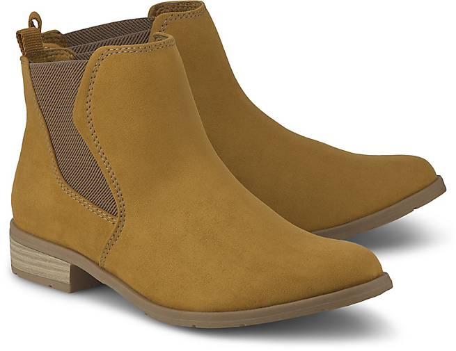 Stiefel von Marco Tozzi in Gelb für Damen