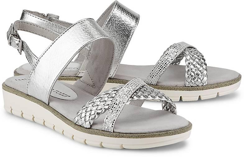Marco Tozzi Metallic-Sandalette