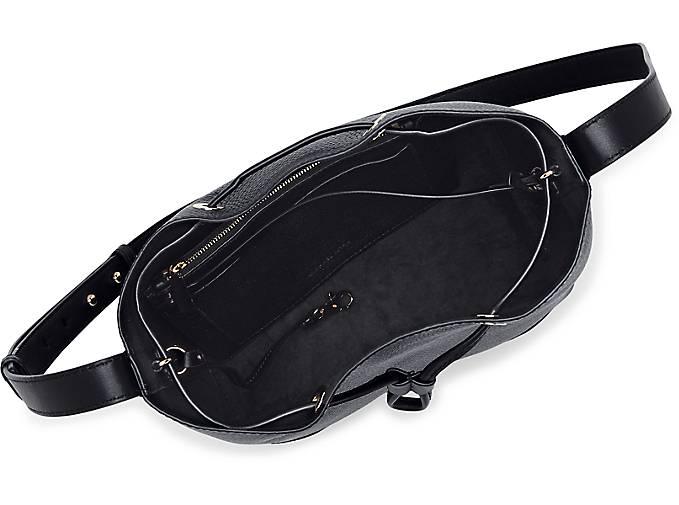 d37bdfea1fed4 Michael Kors CARY MD BUCKET BAG in schwarz kaufen - 47708501