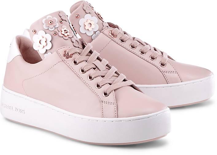 Silberne Michael Kors Sneaker MINDY LACE UP ZNPMY3