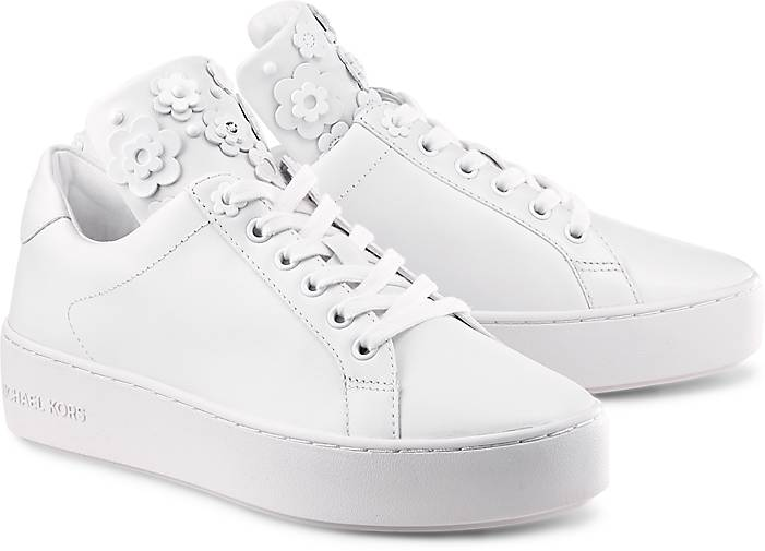 Weiße Michael Kors Sneaker MINDY LACE UP Lm5oY8OyWb