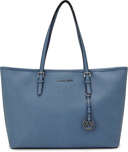 Michael Kors Jet Set Travel Blau
