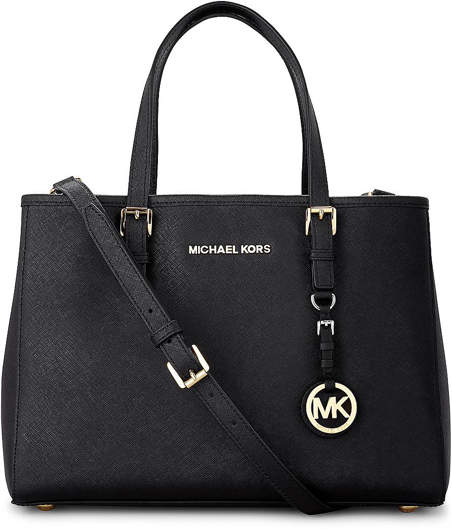 michael kors tasche schwarz imitat. Black Bedroom Furniture Sets. Home Design Ideas