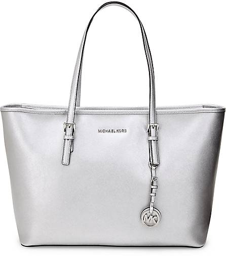 Michael Kors Shopper Silber